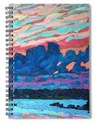 Sunset Snails Spiral Notebook