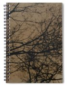 Sunset Snow Spiral Notebook