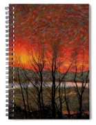 Sunset Soliloquy Spiral Notebook