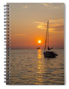 Sunset Southern Style Spiral Notebook