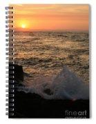 Sunset Splash Spiral Notebook