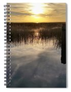 Sunset St Clair  Spiral Notebook