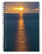 Sunset Streaks Spiral Notebook