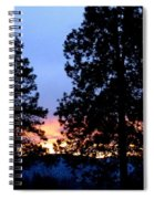 Sunset Strip Spiral Notebook