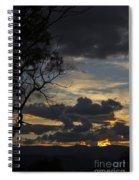 Sunset Study 1 Spiral Notebook