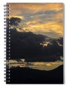 Sunset Study 5 Spiral Notebook