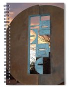 Sunset Thru Art Spiral Notebook