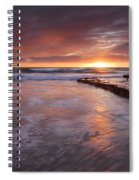 Sunset Tides Spiral Notebook