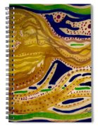 Sunset To Moonset Spiral Notebook