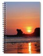 Sunset To Remeber  Spiral Notebook