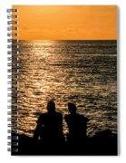 Sunset Together In Key West Spiral Notebook