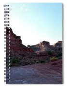 Sunset Tour Valley Of The Gods Utah 07 Spiral Notebook