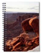 Sunset Tour Valley Of The Gods Utah Vertical 01 Spiral Notebook