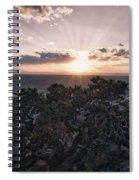 Sunset Valley Of The Gods Utah 01 B Spiral Notebook