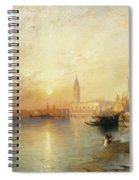 Sunset Venice Spiral Notebook