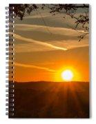 Sunset Vienna West Virginia Spiral Notebook
