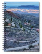 Sunset View From Jerome Arizona Spiral Notebook