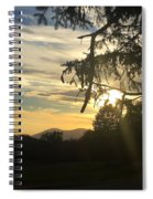 Sunset View From Olana  Spiral Notebook