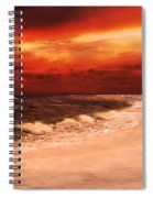 Sunset Walk Spiral Notebook