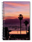 Sunset Walker Spiral Notebook