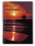 Sunset - Wonder Of Nature Spiral Notebook