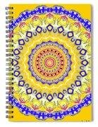 Sunshine And Blue Skies Mandala Spiral Notebook