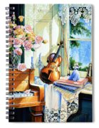 Sunshine And Happy Times Spiral Notebook