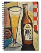 Sunshine And Hops Spiral Notebook