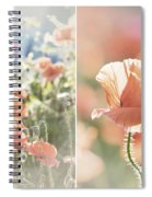 Sunshine And Poppies Spiral Notebook