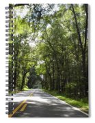 Sunshine And Shade Spiral Notebook