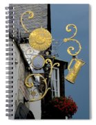 Sunshine At Night Spiral Notebook