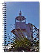 Sunshine At The Lighthouse Spiral Notebook
