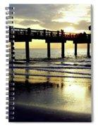 Sunshine At The Pier 60 Spiral Notebook