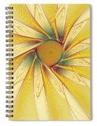 Sunshine Flower Spiral Notebook