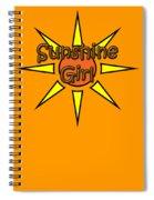 Sunshine Girl Spiral Notebook