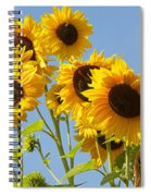 Sunshine Happy Spiral Notebook