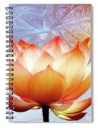 Sunshine Lotus Spiral Notebook
