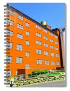 Sunshine Mill Winery The Dallas Oregon Spiral Notebook