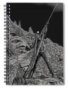 Sunshine Mine Fire Monument - Idaho State Spiral Notebook