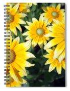 Sunshine On A Stem Spiral Notebook
