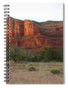 Sunshine On Courthouse Butte Spiral Notebook