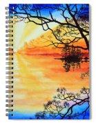 Sunshine On My Shoulders Spiral Notebook