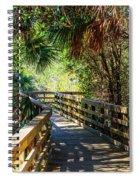 Sunshine On The Boardwalks Spiral Notebook