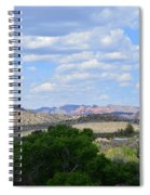 Sunshine On The Mountains - Verde Canyon Spiral Notebook