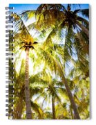 Sunshine Palms Spiral Notebook