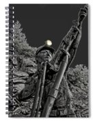 Sunshine Silver Mine Memorial - Kellogg Idaho Spiral Notebook