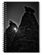 Sunstar At Tent Rocks Spiral Notebook