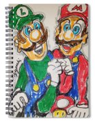 Super Mario Brothers Spiral Notebook