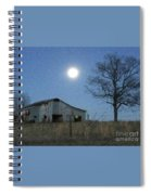 Super-moon, Simple Barn Spiral Notebook