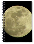 Super Moon March 19 2011 Spiral Notebook